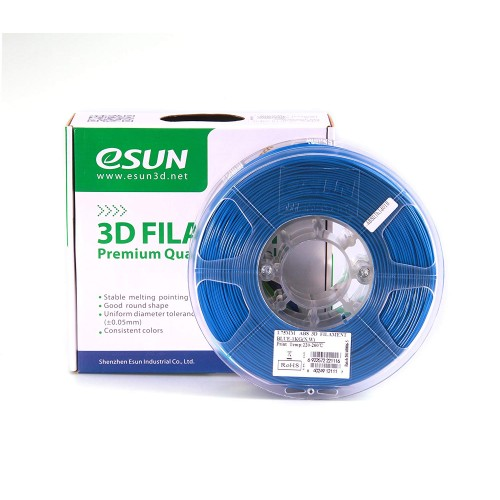 Esun 1.75 mm Mavi ( Blue ) ABS  Filament 1000Gr