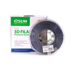 Esun 1.75 mm Grey ( Gri ) ABS Plus Filament 1000Gr
