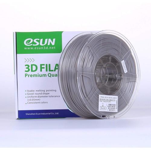 Esun 1.75 mm Gümüş ( Solid Silver ) PETG Filament 1000Gr