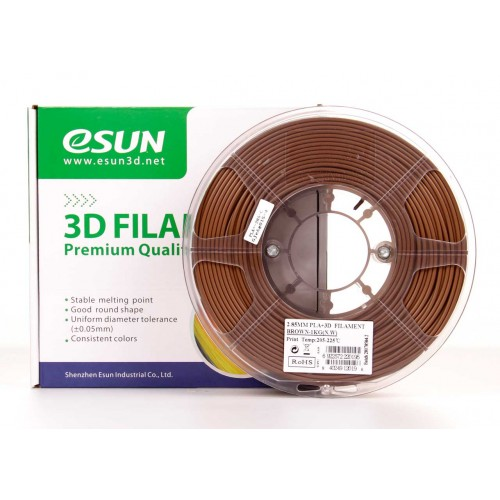 Esun 1.75 mm Kahverengi ( Brown ) PLA Plus Filament 1000Gr