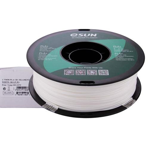 Esun Beyaz Filament ( White ) 1.75mm PLA Plus