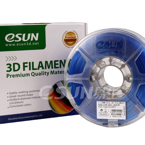 Esun 1.75 mm Mavi ( Blue ) PLA Plus Filament 1000Gr