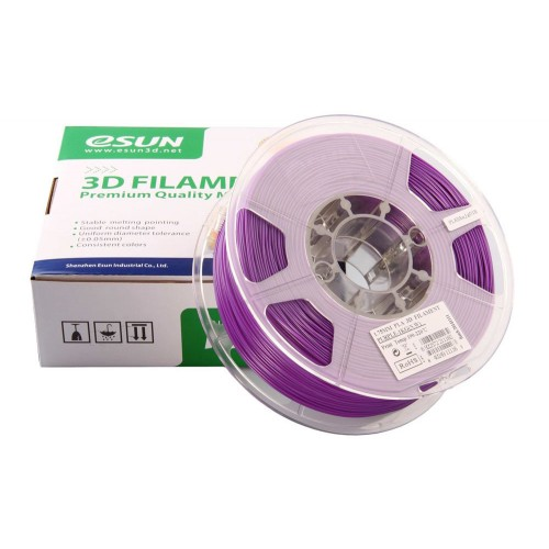 Esun 1.75 mm Mor ( Purple )PLA Plus Filament 1000Gr