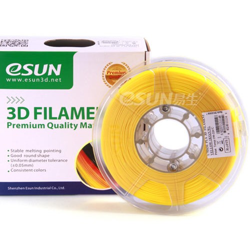 Esun 1.75 mm Sarı PLA Plus Filament 1000Gr