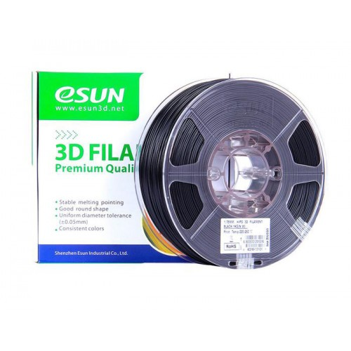 Esun 1.75 mm Siyah ( Black ) PLA Plus Filament 1000Gr