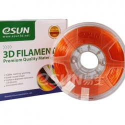Esun 1.75 mm Turuncu ( Orange ) PLA Plus Filament 1000Gr