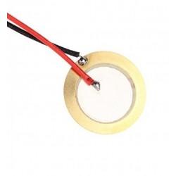 50mm Piezo Disk Kablolu