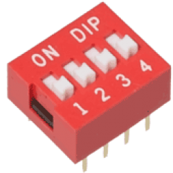 4 Pin Dip Switch