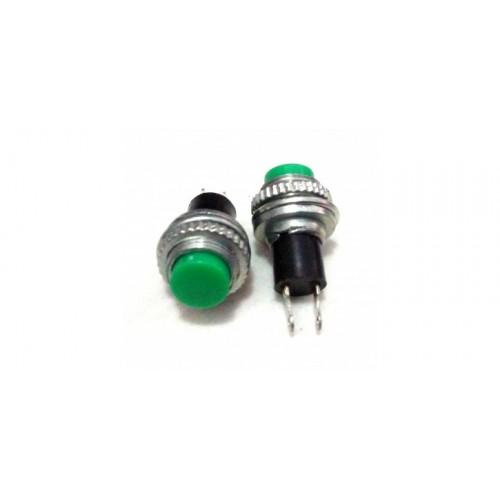 HDS-316 10mm Yeşil Push Buton