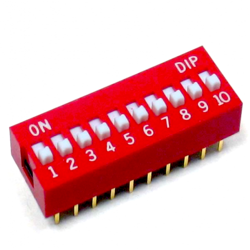10 Pin Dip Switch