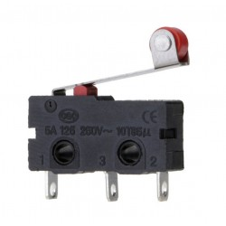 HD168 Mikro Switch Lehim Bacak Makaralı