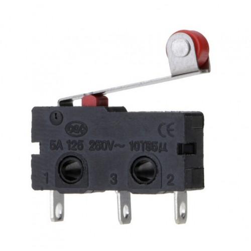 HD168 Mikro Switch Lehim Bacak Makaralı