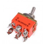 6 Pin Off-Mom (Yaylı) Toggle Switch HD158A