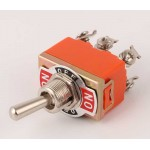 6 Pin On-Off-Mom (Yaylı) Toggle Switch HD159