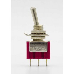 3 Pin 12mm On-Off Toggle Switch HD148E