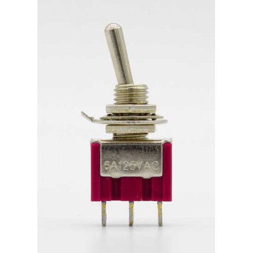 3 Pin 12mm On-Off-On Toggle Switch HD148F