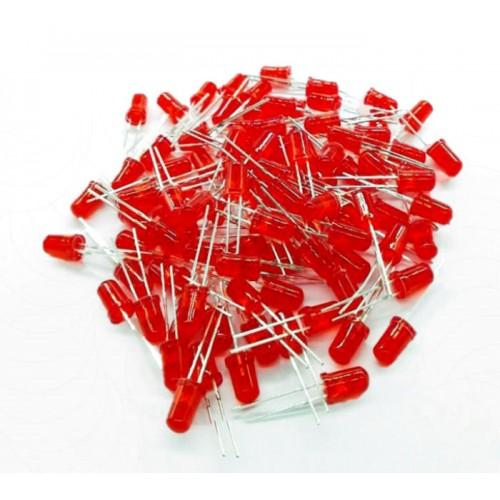 Kırmızı Led 5mm 100 Adet