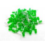 Yeşil Led 5mm 100 Adet