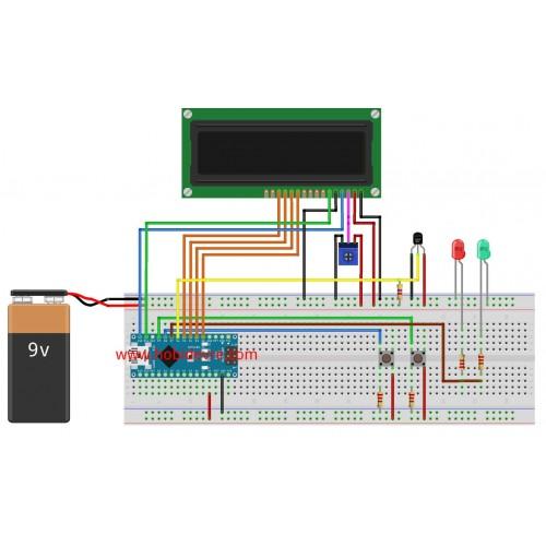 Arduino ile Dijital Termostat