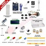 Arduino UNO Başlangıç Seti - DC Motor,LCD,Ultrasonic...
