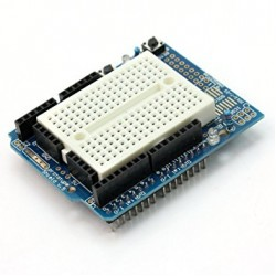 Arduino Uno R3 Proto Shield Kiti ( Mini breadbord' lu )