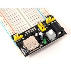 Breadbord Power Modülü - Breadbord Besleme 3.3 Volt 5 Volt