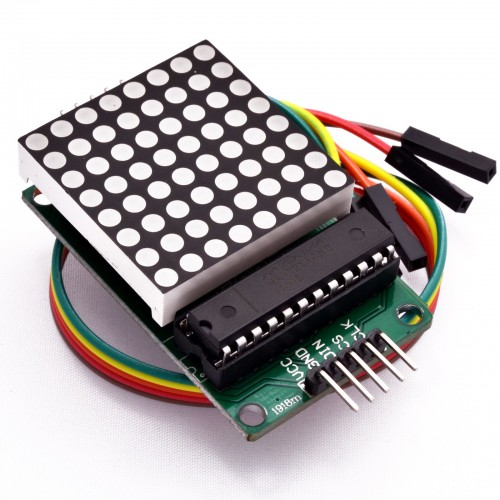 8X8 dotmatrix Modülü ( MAX7219 )