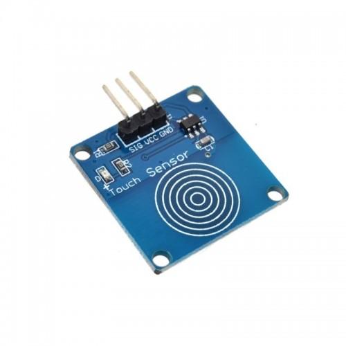 Dijital Dokunma Sensörü TTP223B - Digital Touch Sensör