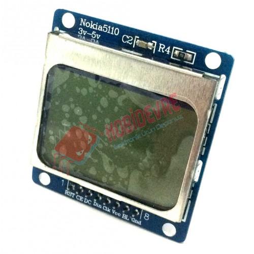 Arduino Nokia 5110 LCD