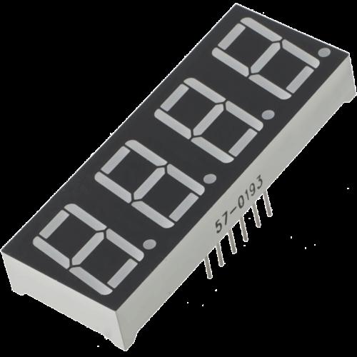14mm 4 dijit Ortak Anot display