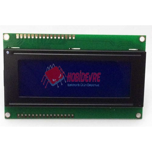 4X20 Karakter Lcd Display Mavi