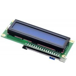 2x16 Mavi LCD I2C Montajlı