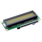 2x16 Yeşil LCD I2C Montajlı