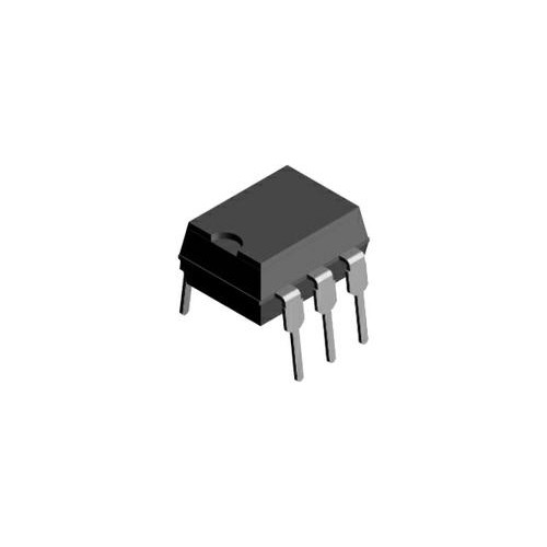 4N25 ( DIP Optocoupler, Phototransistor Output, with Base Connection )