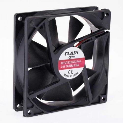 90x90x25 DC 24 Volt Fan