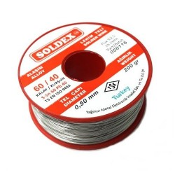 0.50mm 200 Gram Soldex Lehim Teli