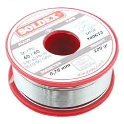 0.75mm 200 Gram Soldex Lehim Teli
