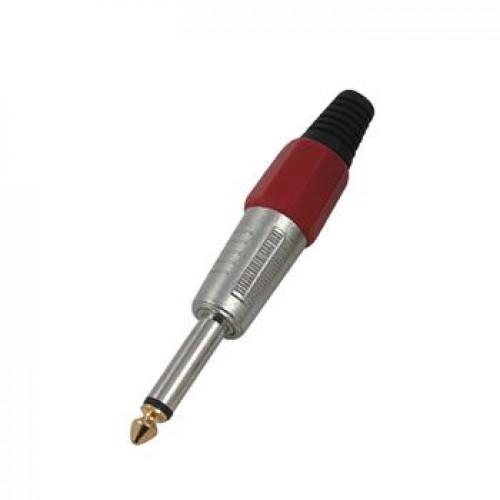6.3mm mono jak kırmızı