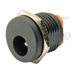 2.1mm DC yuvarlak somunlu jak yuvası