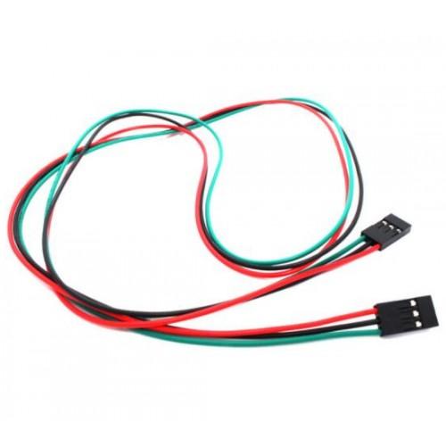 Dişi / Dişi 3 Pin 2.54 300mm Dupont kablo