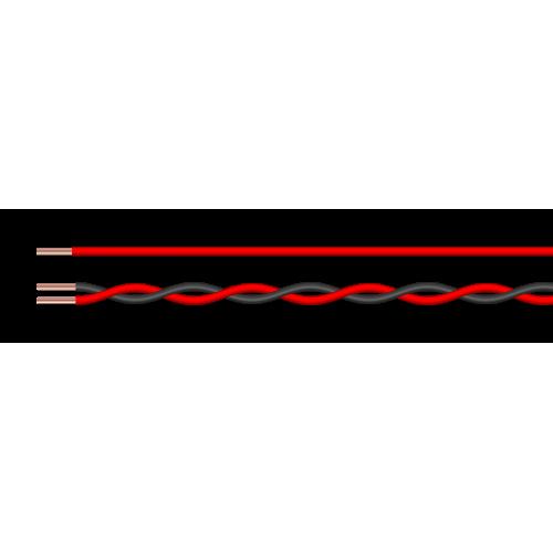 Zil Teli 2X0.50 Bakır Kablo
