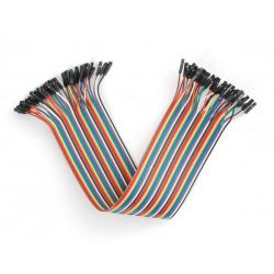 Dişi / Dişi 40 Adet jumper kablo