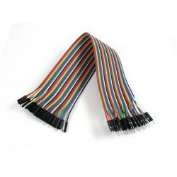 Dişi / Erkek 40 Adet jumper kablo ( 10 cm )