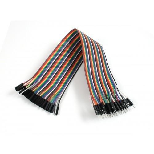 Dişi / Erkek 40 Adet jumper kablo