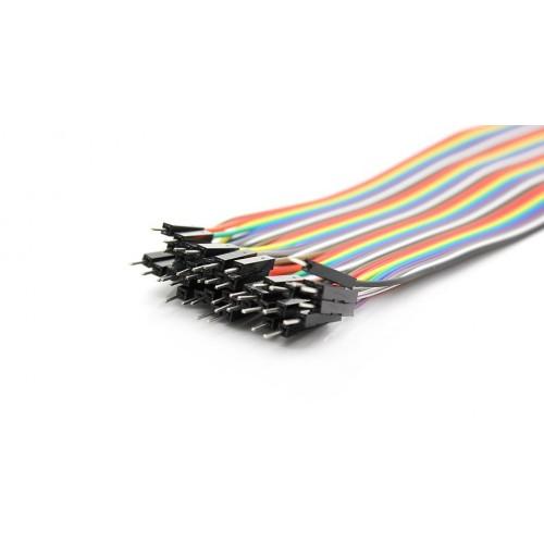 Erkek / Erkek 40 Adet jumper kablo ( 10 cm )