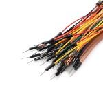 Erkek - Erkek Jumper Kablo Karışık Renk 10cm