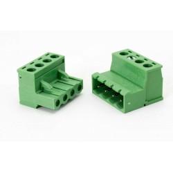 4 Pin Kablo Birleştirici Klemens 5.08mm