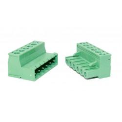 6 Pin Kablo Birleştirici Klemens 5.08mm