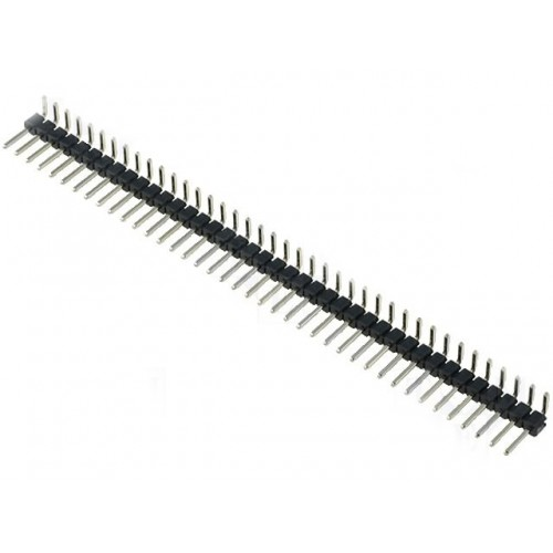 1X40 90° Erkek header pin