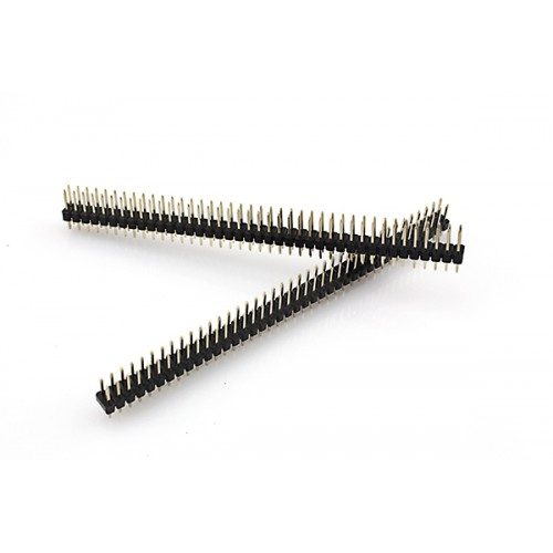 2X40 180° 12mm Erkek header pin